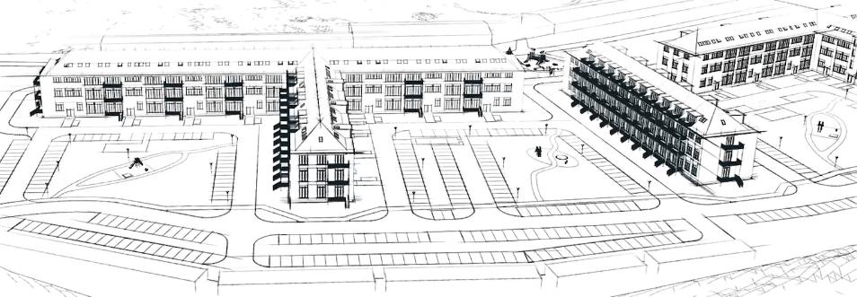 architekturbüro markovic zeichnung